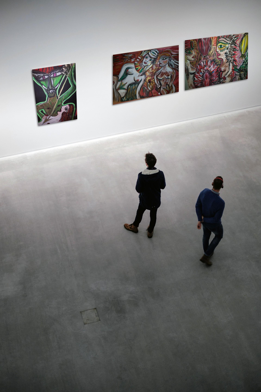 Andraa Ausstellungen